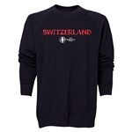Switzerland Euro 2016 Core Crewneck Sweatshirt (Black)