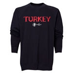 Turkey Euro 2016 Core Crewneck Sweatshirt (Black)