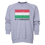 Hungary Euro 2016 Fashion Crewneck Sweatshirt (Grey)