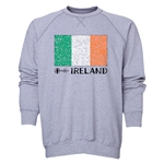 Ireland Euro 2016 Fashion Crewneck Sweatshirt (Grey)