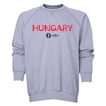 Hungary Euro 2016 Core Crewneck Sweatshirt (Grey)