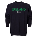 Ireland Euro 2016 Core Crewneck Sweatshirt (Black)