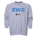 Sweden Euro 2016 Elements Crewneck Sweatshirt (Grey)