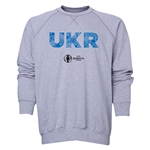 Ukraine Euro 2016 Elements Crewneck Sweatshirt (Grey)