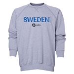 Sweden Euro 2016 Core Crewneck Sweatshirt (Grey)