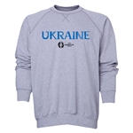 Ukraine Euro 2016 Core Crewneck Sweatshirt (Grey)