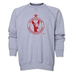 Xolos de Tijuana Distressed Crewneck Fleece (Gray)