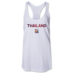 Thailand FIFA Women's World Cup Canada 2015(TM) Racerback Tank Top (White)
