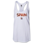 Spain FIFA Women's World Cup Canada 2015(TM) Racerback Tank Top (White)