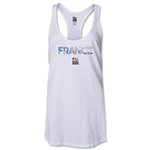 France FIFA Women's World Cup Canada 2015(TM) Racerback Tank Top (White)