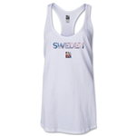 Sweden FIFA Women's World Cup Canada 2015(TM) Racerback Tank Top (White)