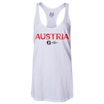 Austria Euro 2016 Women's Core Racerback Tank Top (White)
