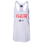 Germany Euro 2016 Women's Elements Racerback Tank Top (White)