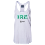 Ireland Euro 2016 Women's Elements Racerback Tank Top (White)