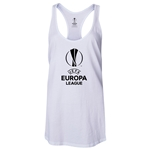 UEFA Europa League Women's Racerback Tank Top (White)