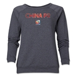 China FIFA Women's World Cup Canada 2015(TM) Women's Core Crewneck Sweatshirt (Dark Grey)