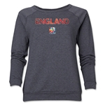 England FIFA Women's World Cup Canada 2015(TM) Women's Crewneck Sweatshirt (Dark Grey)