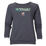 Norway FIFA Women's World Cup Canada 2015(TM) Women's Core Crewneck Sweatshirt (Dark Grey)