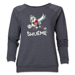 FIFA Women's World Cup Canada 2015(TM) Women's Mascot Pose 3 Crewneck Sweatshirt (Dark Grey)