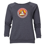 FC Santa Claus Core Women's Crewneck Fleece (Dark Gray)