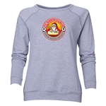 FC Santa Claus Core Women's Crewneck Fleece (Gray)
