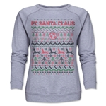 FC Santa Claus Christmas Sweater Women's Crewneck Fleece