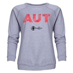 Austria Euro 2016 Elements Women's Crewneck Sweatshirt (Grey)