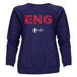 England Euro 2016 Elements Women's Crewneck Sweatshirt (Navy)