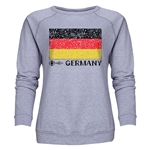 Germany Euro 2016 Fashion Women's Crewneck Sweatshirt (Grey)