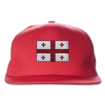 Georgia Flatbill Cap (Red)