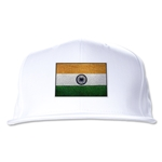 India Flatbill Cap (White)