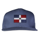 Dominican Republic Flatbill Cap (Navy)