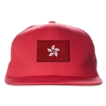 Hong Kong Flatbill Cap (Red)