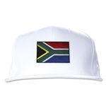 South Africa Flatbill Cap (White)