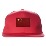 China Flatbill Cap (Red)