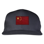 China Flatbill Cap (Black)
