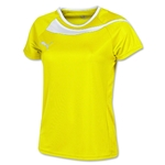PUMA Puma Women's Top Jersey 13 (Yellow/White)
