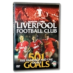 Liverpool 501 Goals Soccer DVD