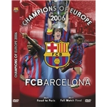 Barcelona Champions of Europe 2006 Soccer DVD