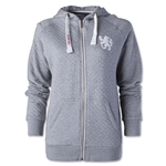 Chelsea Women's Zip Thru Rampant Hoody (Grey)