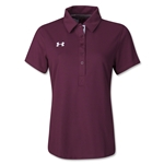 Under Armour Women's Coaches Polo II (Maroon)