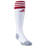 adidas Copa Zone Cushion II Sock (White/Red)