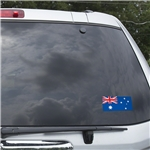 Australia Flag Graphic Window Cling