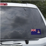 Cayman Islands Flag Graphic Window Cling