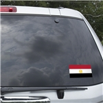 Egypt Flag Graphic Window Cling