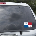 Panama Flag Graphic Window Cling