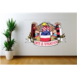 ACME American Outlaws Unite and Strengthen Graphic Wall Decal