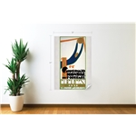 1930 FIFA World Cup Uruguay Poster Wall Decal