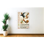 1934 FIFA World Cup Italy Poster Wall Decal