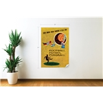 1958 FIFA World Cup Sweden Poster Wall Decal